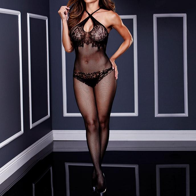 Baci Lingerie Sexy Netzbodystocking