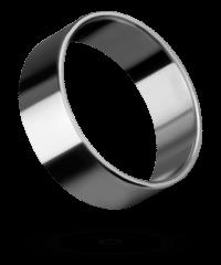 Sehr breiter Edelstahl-Penisring, 4cm