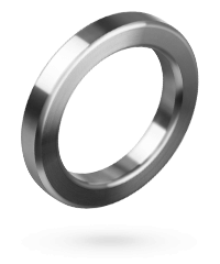 Massiver Edelstahl-Penisring, 5cm