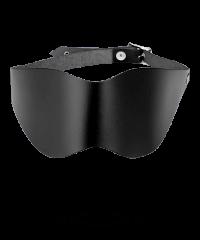 Blickdichte Leder-Maske