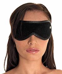 Edle Augenmaske aus Leder