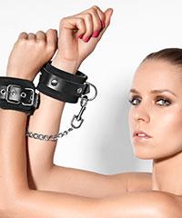 Handschellen mit Verbindungskette