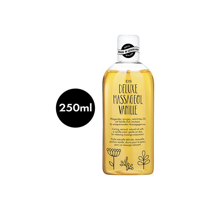 ´Deluxe Massageöl Vanille´, 250ml