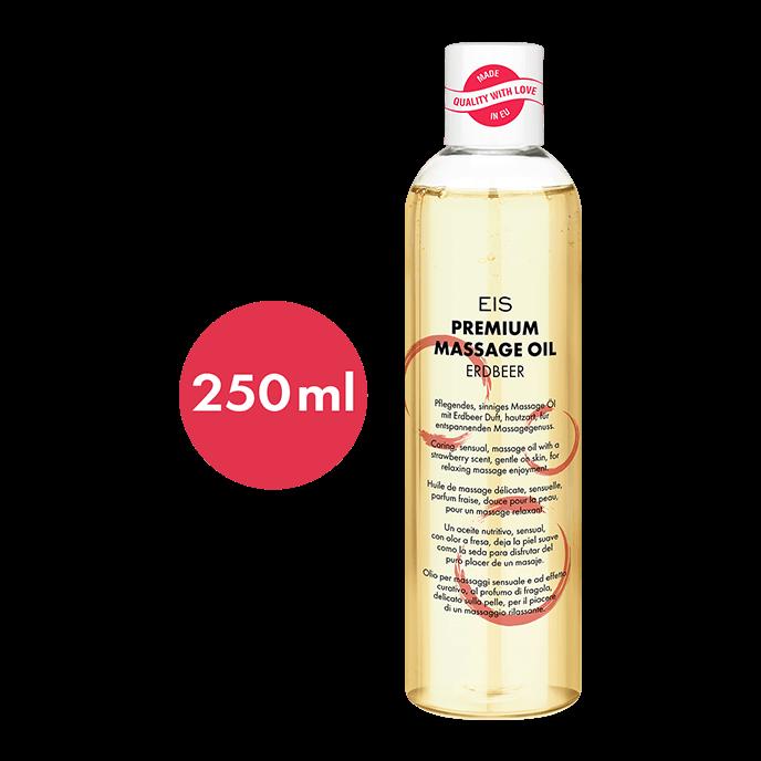 ´Premium Massageöl Erdbeere´, 250ml