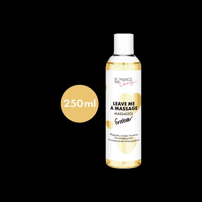 ´Leave Me A Massage - Erdbeer´, 250ml