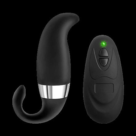 G-Punkt-Vibrator mit Fernbedienung  aus Silikon, 11cm