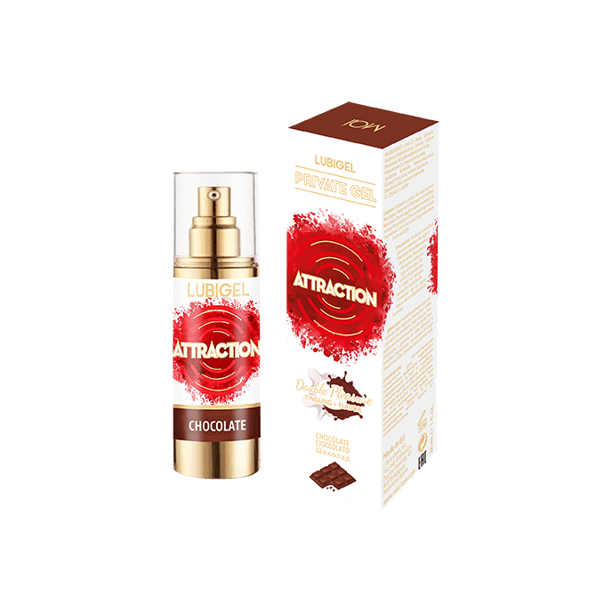 Attraction 'Lubrigel - Chocolate', 30 ml