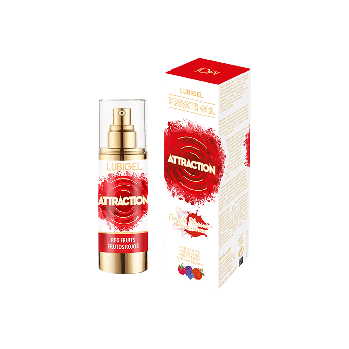 Attraction 'Lubrigel - Red Fruits', 30 ml