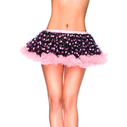 Mini Petticoat aus Chiffon