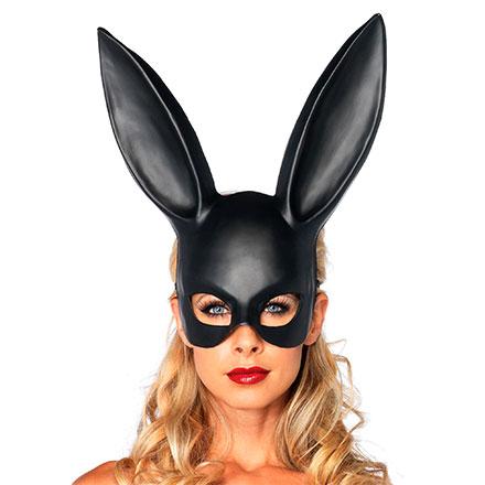 Häschen-Maske mit langen Ohren