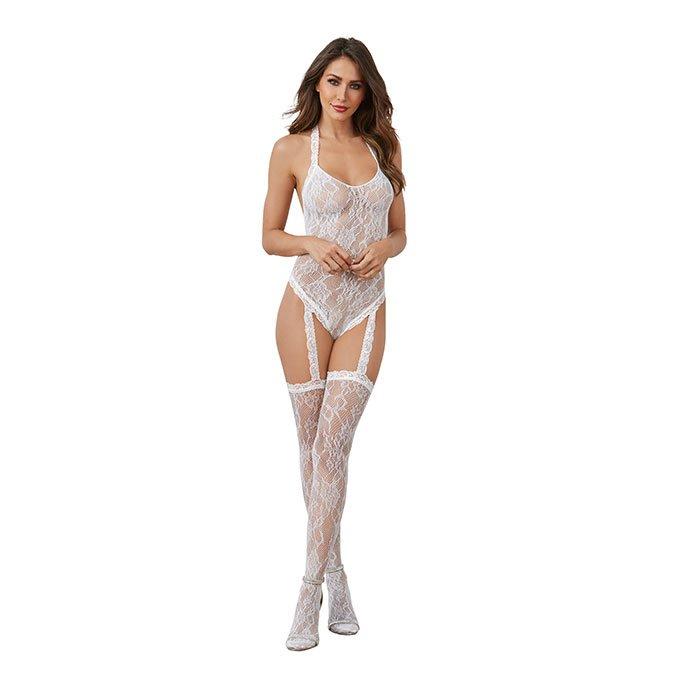 Dreamgirl Romantischer Straps-Body, Gr. S-L