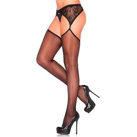 Sexy Fein­strumpfhose in Straps-Optik
