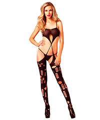 Bodystocking mit Cut-Outs