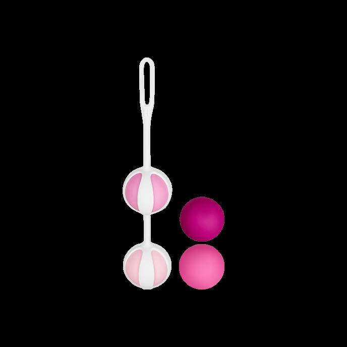 Gvibe 'Geisha Balls 2', 5 Teile, 3,5 cm