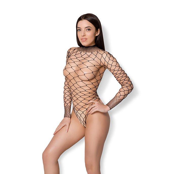 Leg Avenue 'High Neck Long Sleeved Bodysuit'