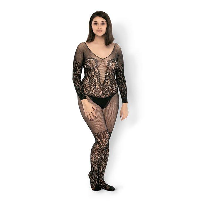Leg Avenue 'Vine Lace & Net Bodystocking'