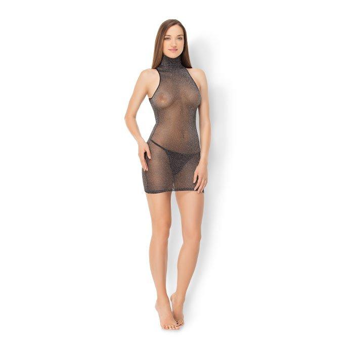 Leg Avenue 'Shimmer Mini Dress'