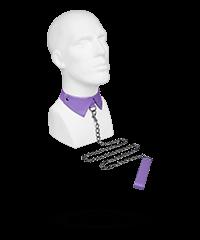 Stilvoller Kragen mit abnehmbarer Leine