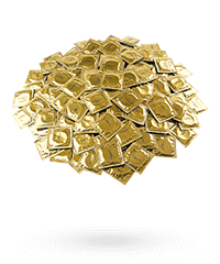 'Markenkondome', 100Stück, 53mm