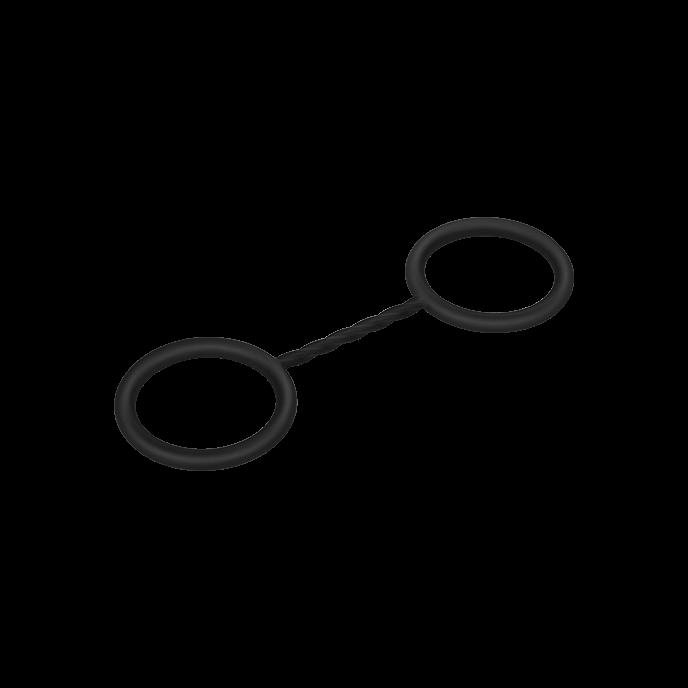 Silikon-Handschellen