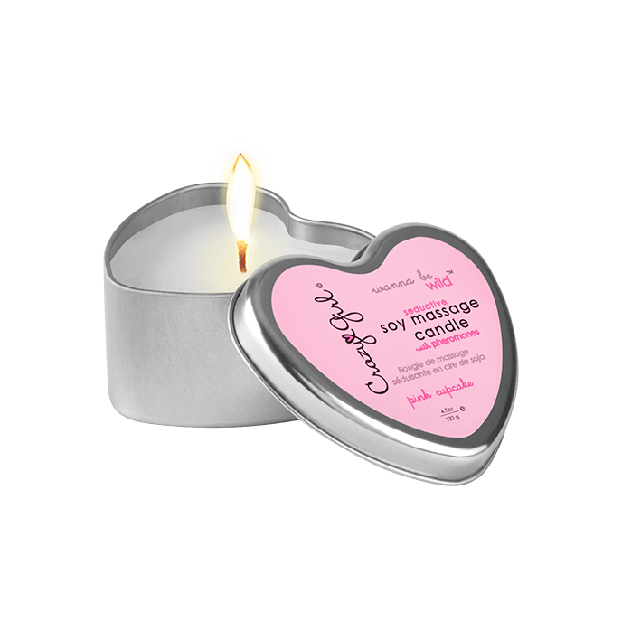 ´Soy Massage Candle Pink Cupcake´, 133g