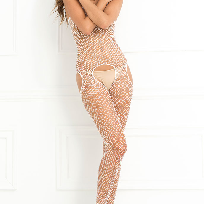 Sexy Bodystocking im Ouvert-Design
