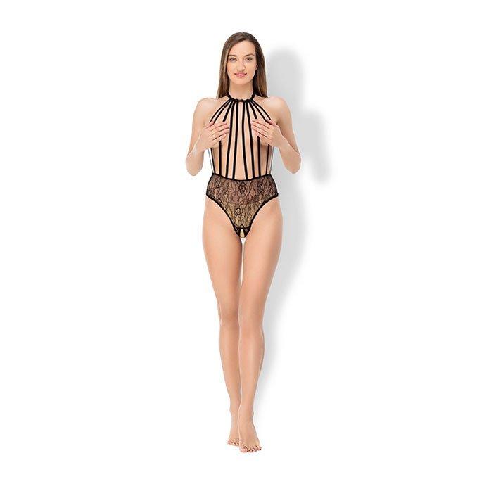 BeWicked Lingerie Body im Riemen-Design