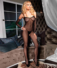 Bodystocking mit Cut Out, 2teilig