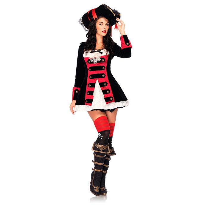 Charmante Piratenkapitänin