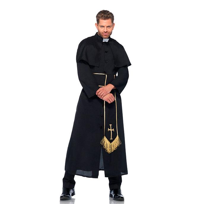 Leg Avenue Priester-Robe, 2 Teile