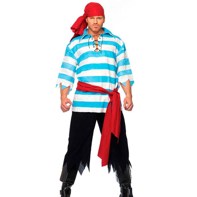 Leg Avenue Verruchtes Piraten-Kostüm, 4 Teile