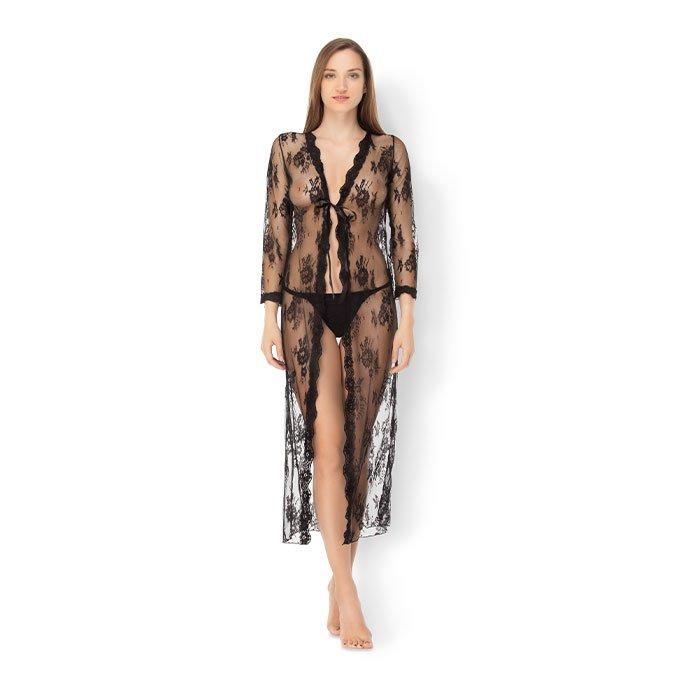 Leg Avenue 'Lace Robe Set', 2 Teile, Gr. XL