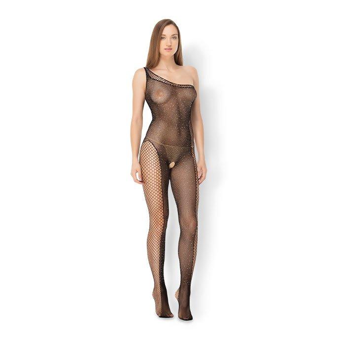 Leg Avenue 'Asymmetrical Bodystocking', Gr. XL-XXL