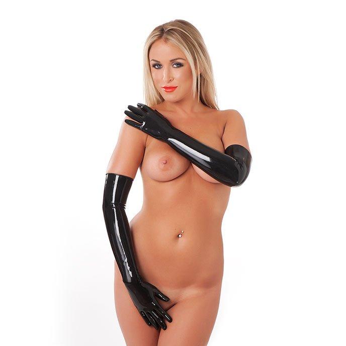 Rimba 'Long Latex Gloves'