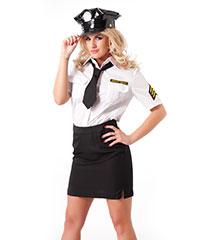 Bezaubernde Polizei-Uniform, 4teilig