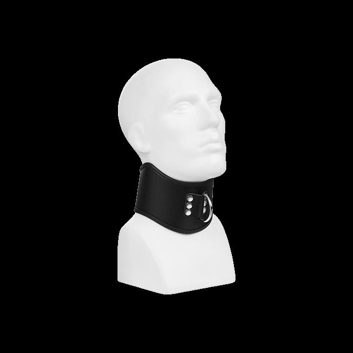 Rimba Gepolstertes Halsband mit D-Ring, Gr. S/M