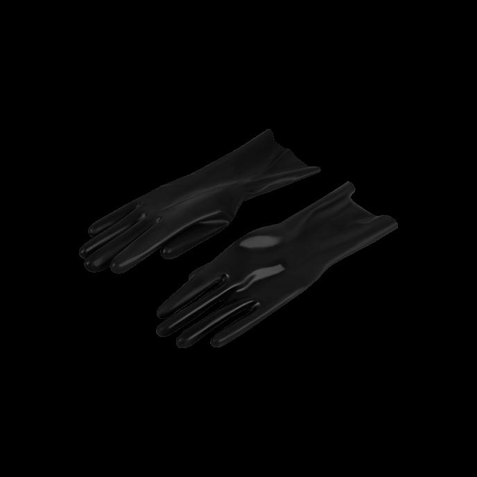 Latex Play Glänzende Latex-Handschuhe, Gr. L