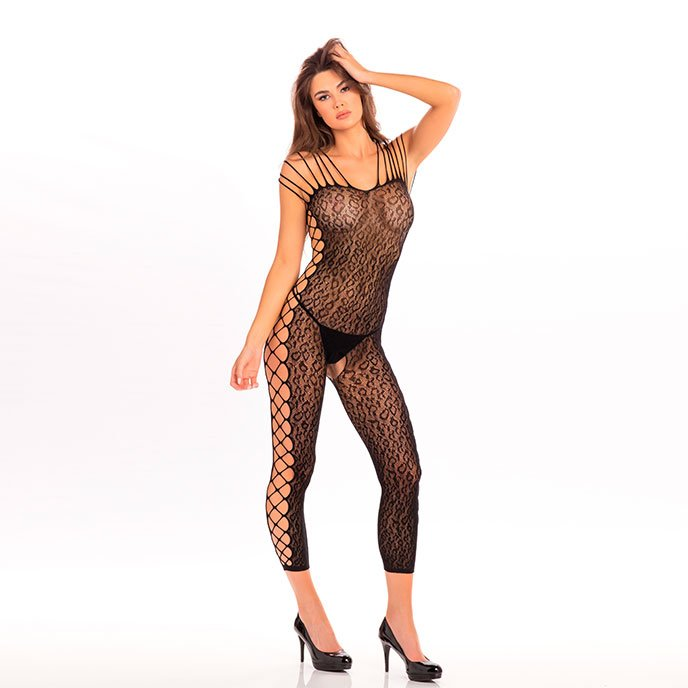 René Rofé 'Animal crotchless Bodystocking'