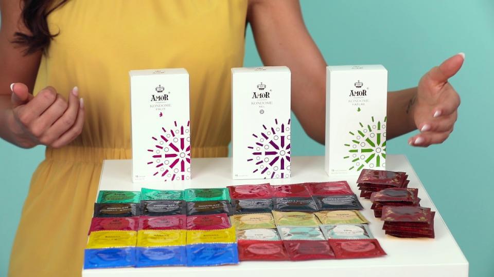 Was macht das 'Variations-Kondomset' von Amor so besonders? EIS weiß es!