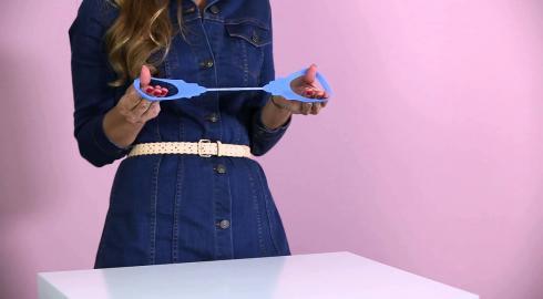 Wie funktionieren die 'Design Handschellen aus Silikon'? EIS klärt Dich auf.