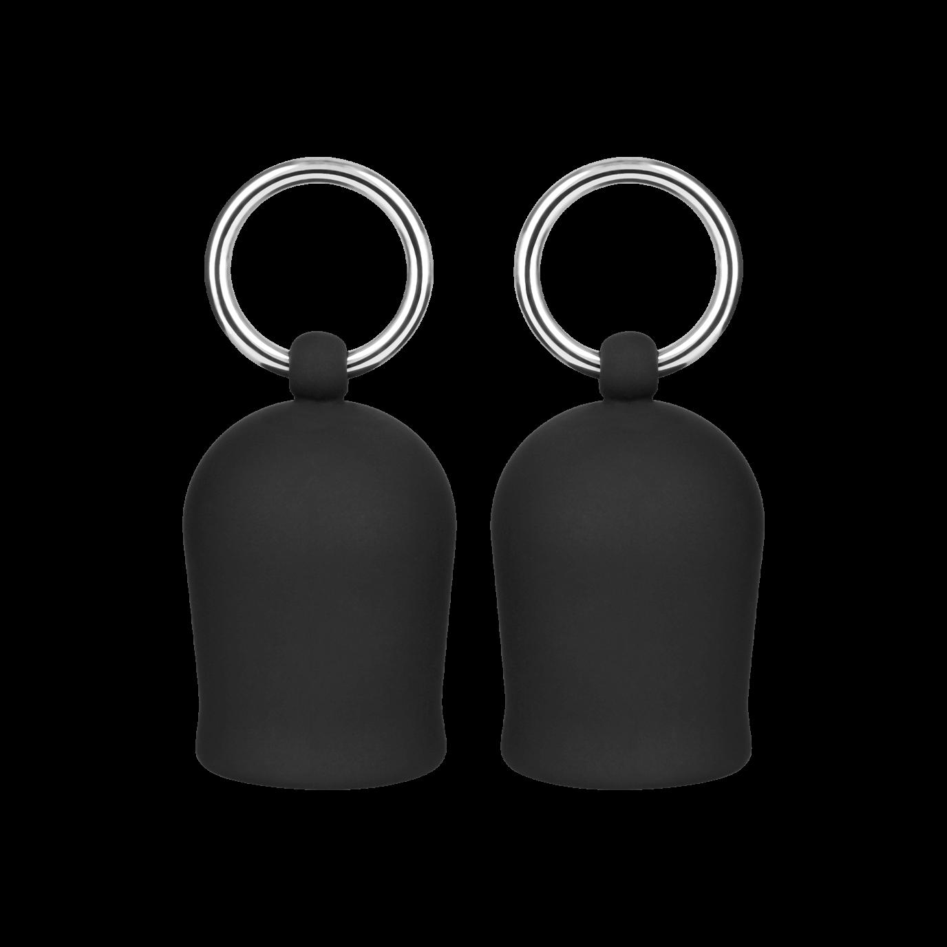 Rimba Silikon-Nippelsauger mit Ring, schwarz jetztbilligerkaufen